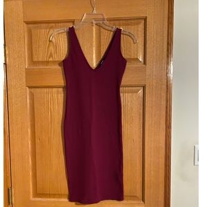 Maroon Party Dress